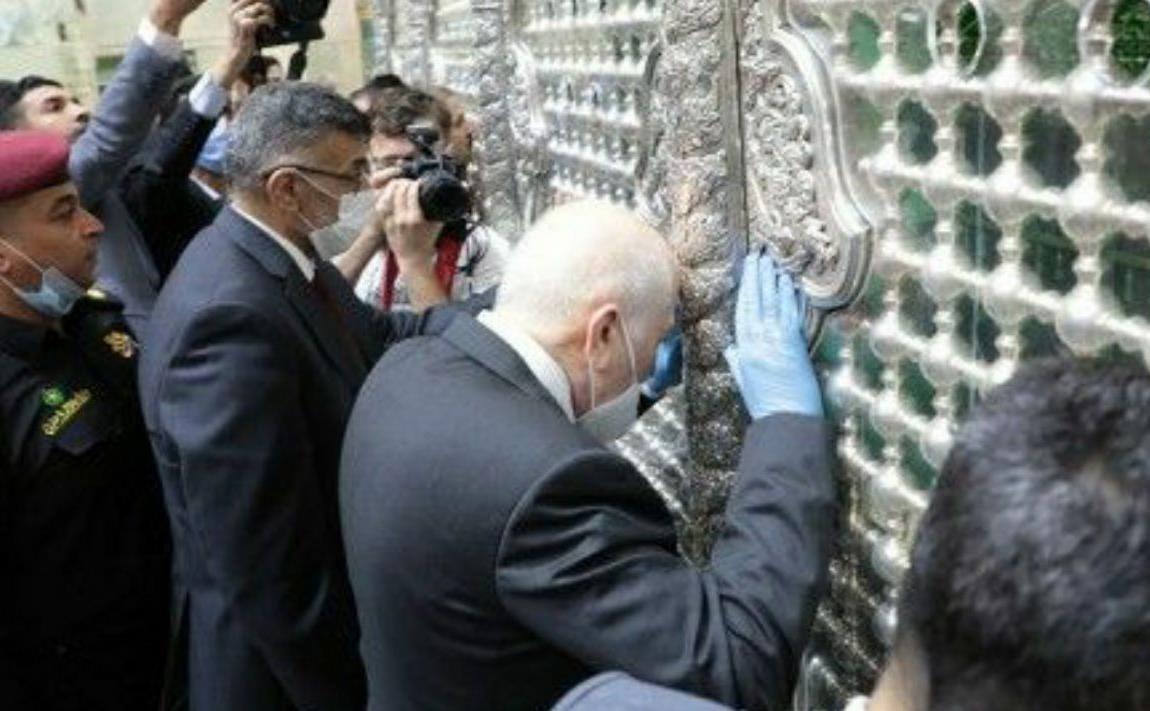 وزیر بهداشت عراق به حرم امام حسین(ع) مشرف شد