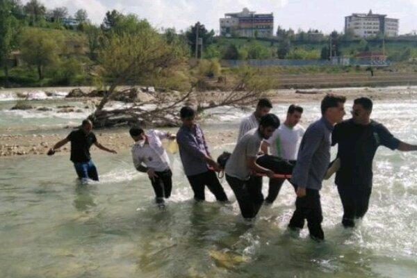 غرق شدگی جوان 33 ساله در رودخانه بشار