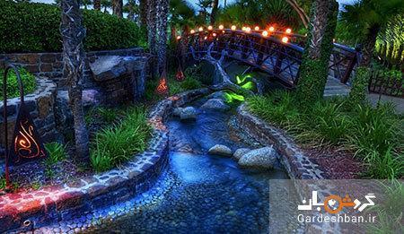 گاردن گلو دبی، بزرگترین باغ نور در دنیا