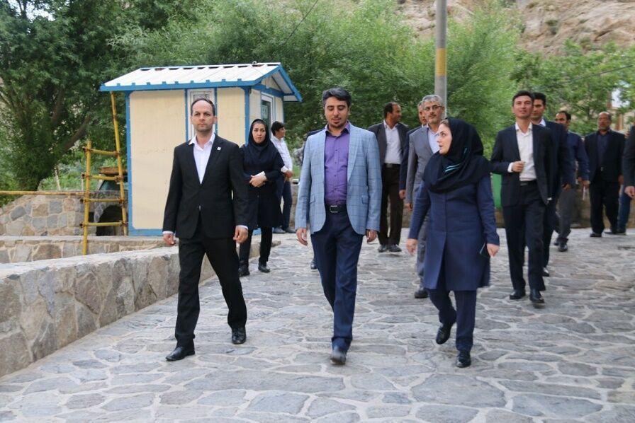 خبرنگاران مجموعه تاریخی کردشت منطقه آزاد ارس به بخش خصوصی واگذار می گردد
