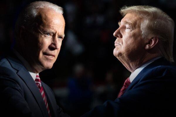 نظرسنجی فاکس نیوز: بایدن در ایالت های کلیدی از ترامپ پیش است