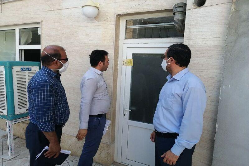 خبرنگاران پلمب 5 واحد اقامتی غیرمجاز در مهاباد
