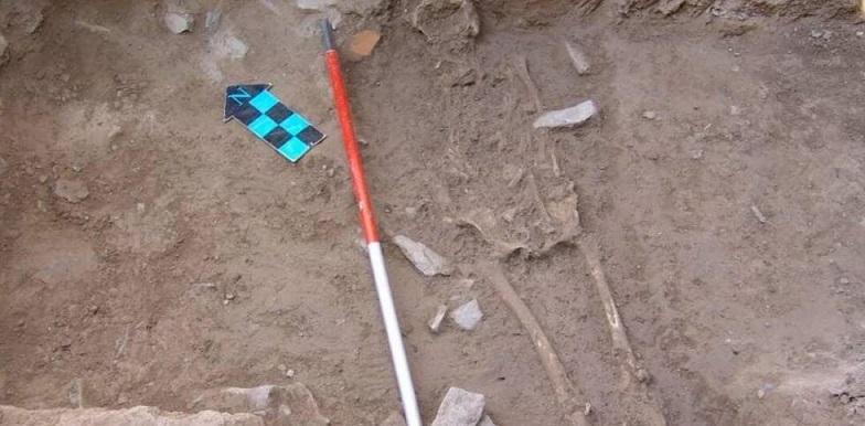 دومین اسکلت بانو اشکانی در تپه اشرف اصفهان کشف شد