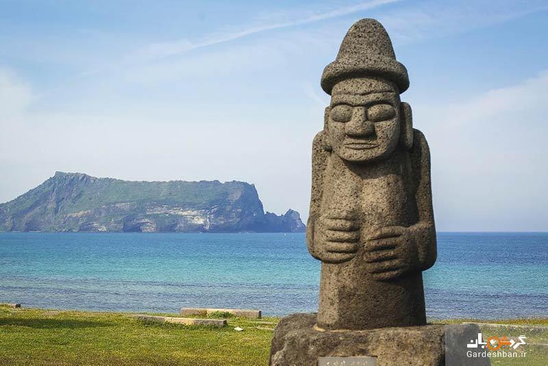 مجسمه های سنگی دول هاریوبانگ در جزیره جیجو، عکس