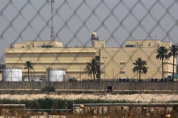 سفارت آمریکا در بغداد همچنان به فعالیت خود ادامه می دهد