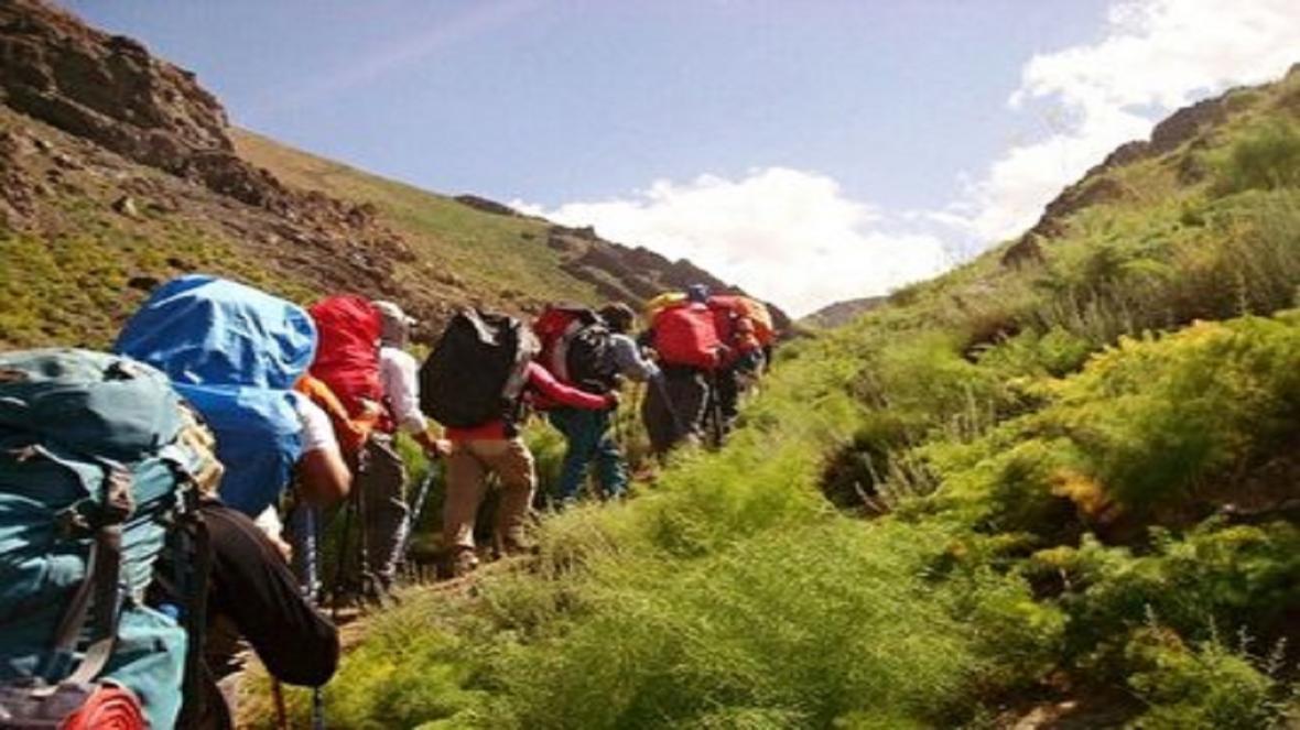 برخورد با 8 تور کوهنوردی غیر مجاز گردشگری در گیلان
