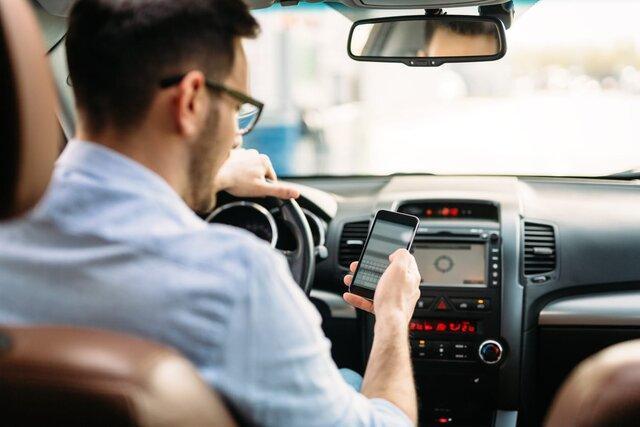 نتیجه پیامک بازی در زمان رانندگی