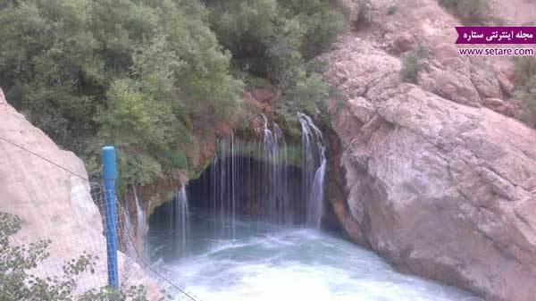 آبشار آب ملخ؛ خطرناکترین آبشار ایران
