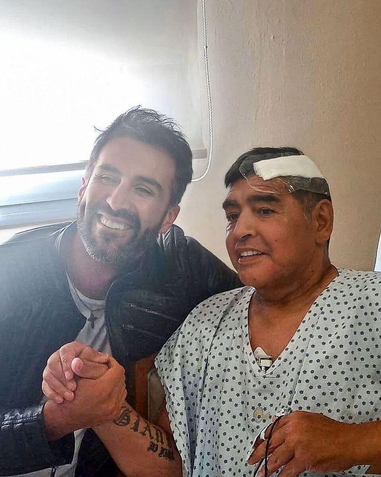 اولین عکس دیگو مارادونا بعد از عمل جراحی