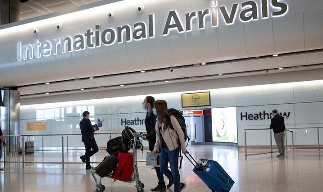 تغییر قوانین قرنطینه مسافران در بریتانیا از 14 روز به 5 روز