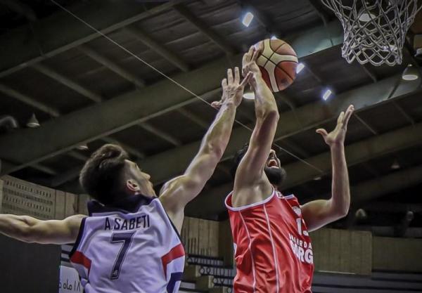 لیگ برتر بسکتبال، نخستین پیروزی رعد پدافند، خانه بسکتبال بدون برد در قعر