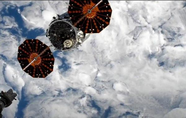 آزمایش اینترنت 5G در فضا با جدایی فضاپیمای سیگنوس از ایستگاه فضایی آغاز شد
