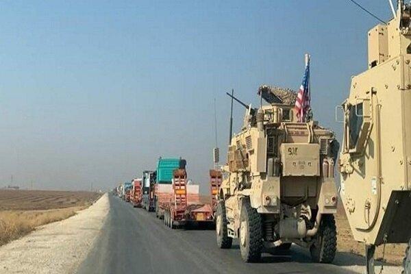 یک کاروان نظامی آمریکا از عراق وارد سوریه شد