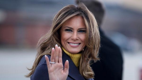 پیام ملانیا ترامپ به هواداران همسرش