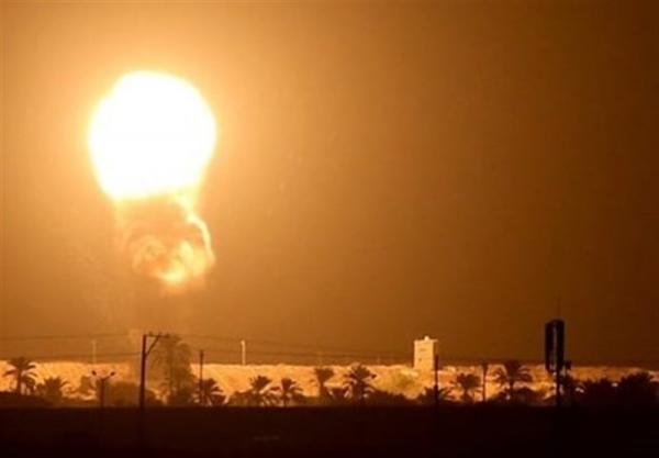 شنیده شدن صدای انفجار در جنوب سوریه