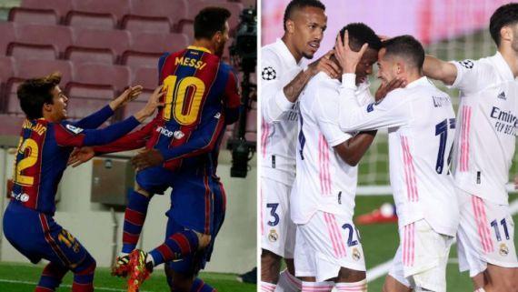 ترکیب احتمالی رئال مادرید و بارسلونا در ال کلاسیکو امشب