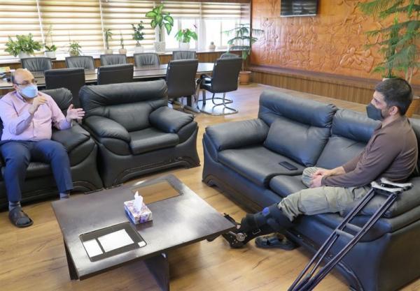 علی نژاد در ملاقات با دبیر: حمایت وزارت ورزش از کشتی صد درصدی است