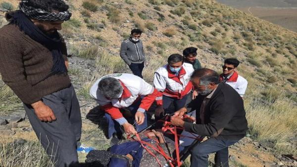 پیدا شدن زن 75 ساله مفقود شده در کوه های روستای حسن رباط