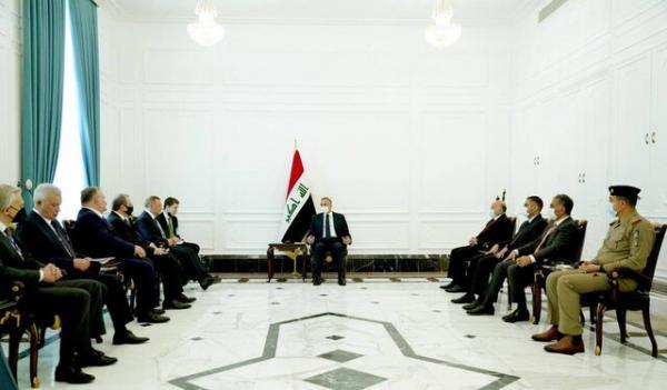 ملاقات الکاظمی با معاون نخست وزیر روسیه، امیدواری پوتین به تقویت روابط دوجانبه با عراق