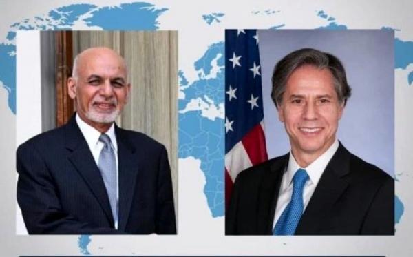 گفتگوی آمریکا و افغانستان درباره فرایند صلح