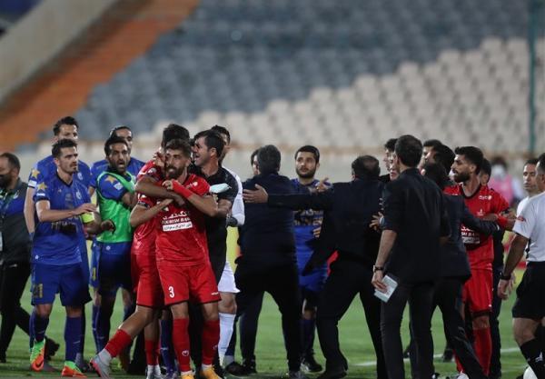 عربشاهی: برای بازیکنان متاسفم که اعصاب و روان همه را خراب می نمایند، اتفاقات دربی زشت بود