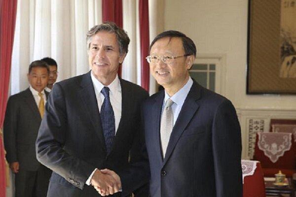 گفتگوی مقامات آمریکا و چین درباره ایران و دیگر مسائل دنیا