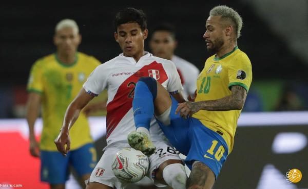 (ویدیو) خلاصه بازی برزیل 1 - 0 پرو؛ نیمار در فینال