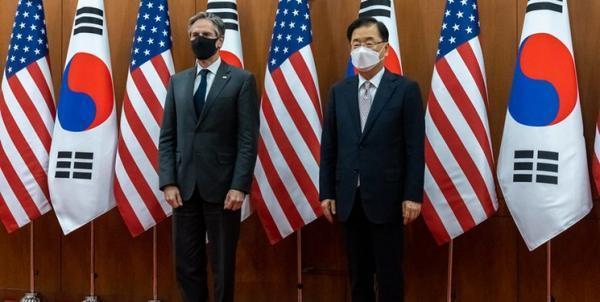 دیدار بلینکن با وزیر خارجه کره جنوبی؛ تاکید بر خلع سلاح اتمی شبه جزیره کره