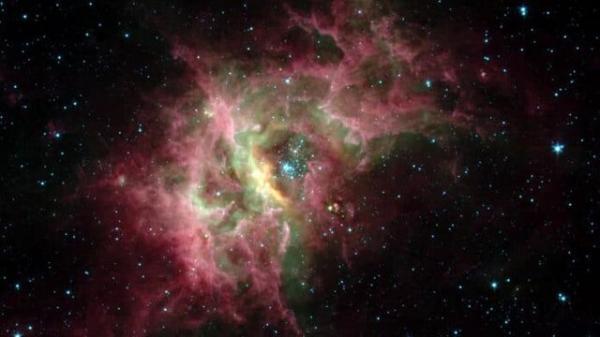 اولین تصویر واضح از حبابی عظیم در فضا